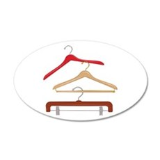 Clothes Hangers Wall Decal