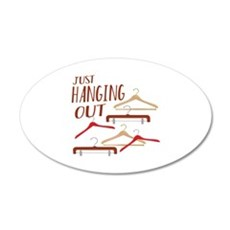 Hanging Out Wall Decal