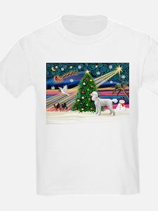 Xmas Magic & Poodle T-Shirt