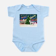 Xmas Magic & Poodle Infant Bodysuit