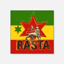 Rasta Irie Lion Sticker