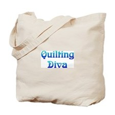 Quilting Diva Tote Bag
