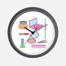 Beauty Products Wall Clock