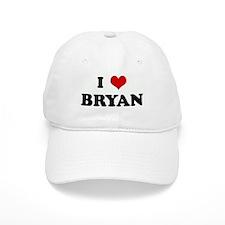 I Love BRYAN Baseball Cap
