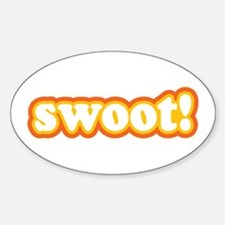 Swoot Oval Decal