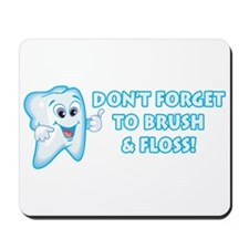 Brush & Floss Mousepad