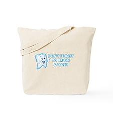 Brush & Floss Tote Bag
