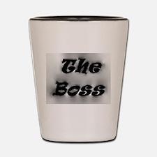 The Boss Shot Glass