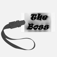 The Boss Luggage Tag