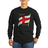 Cricket england Long Sleeve T-shirts (Dark)