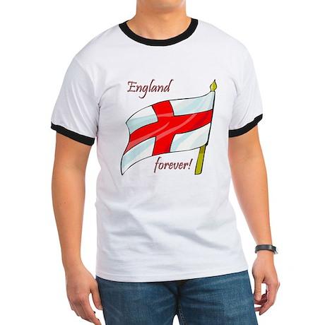 England Forever Ringer T