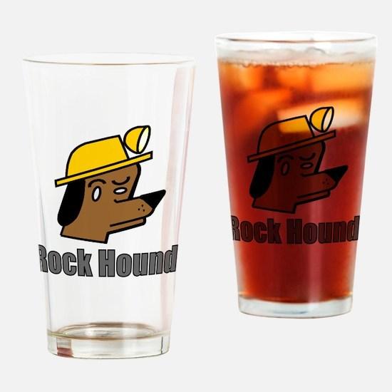 Unique Rock hound Drinking Glass