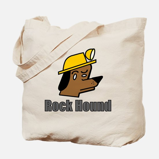 Cute Rock hound Tote Bag