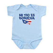 Mi Tio Es Boricua Infant Bodysuit