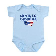 Mi Tia Es Boricua Infant Bodysuit