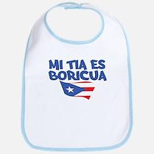 Mi Tia Es Boricua Bib