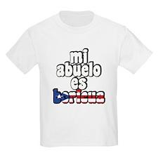 Mi Abuelo Es Boricua T-Shirt