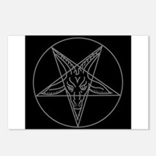 Funny Satanic Postcards (Package of 8)
