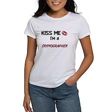Kiss Me I'm a CRYPTOGRAPHER Tee