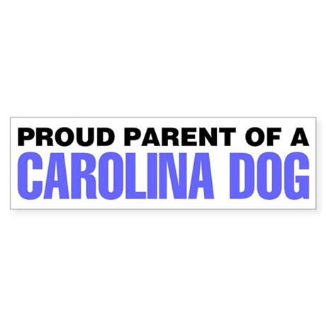 Proud Parent of a Carolina Dog Sticker