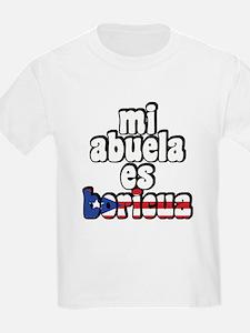 Mi Abuela Es Boricua T-Shirt
