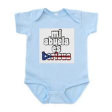Mi Abuela Es Boricua Infant Bodysuit