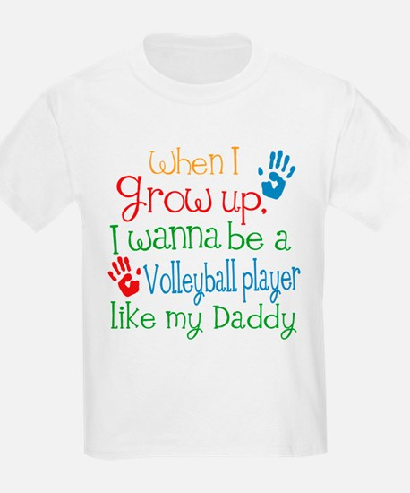 Volleyball Player Like Daddy T-Shirt