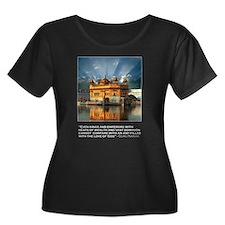 Golden Temple T-Shirts (Dark) T