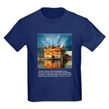 Golden Temple T-Shirts (Dark) T
