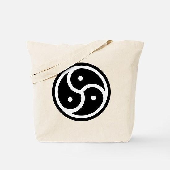 BDSM Triskelion Tote Bag