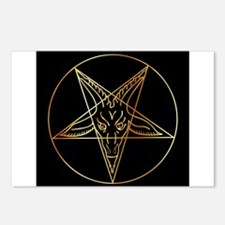 Cool Satanic Postcards (Package of 8)