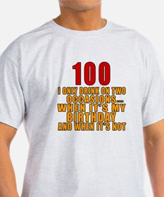 100 Birthday Designs T-Shirt