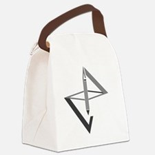 Cute Graphic design Canvas Lunch Bag