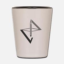 Funny Geometric Shot Glass