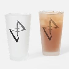 Unique Graphic design Drinking Glass