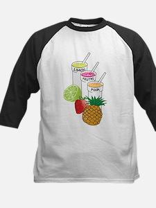 Summer Fruit smoothie Baseball Jersey