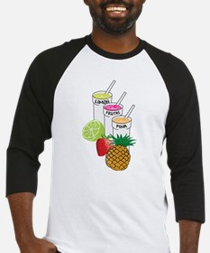 Summer Fruit smoothie Baseball Jersey