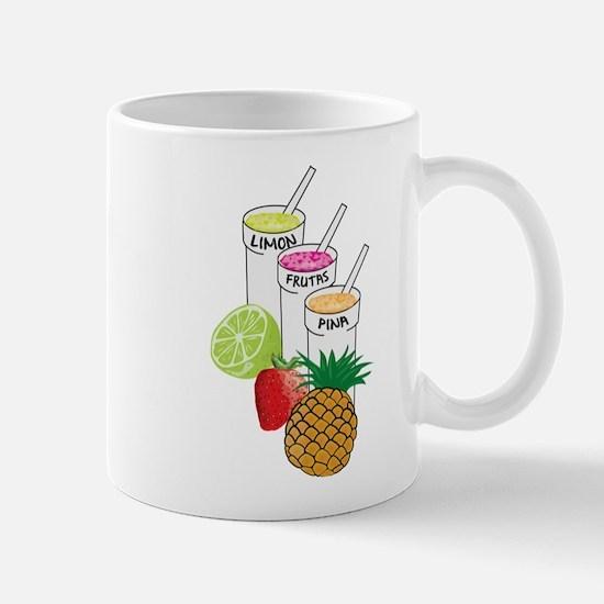 Summer Fruit smoothie Mugs