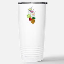 Summer Fruit smoothie Travel Mug