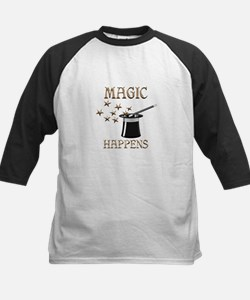 Magic Happens Kids Baseball Jersey