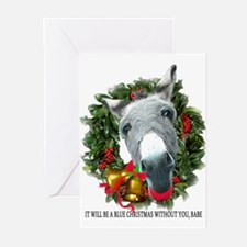 BLUE CHRISTMAS Greeting Cards (Pk of 10)