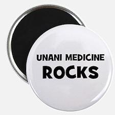 """Unani Medicine Rocks 2.25"""" Magnet (10 pack)"""