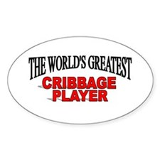 """The World's Greatest Cribbage Player"" Decal"