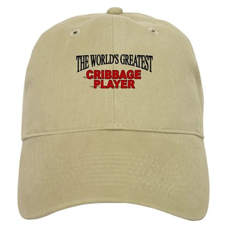 """""""The World's Greatest Cribbage Player"""" Cap"""
