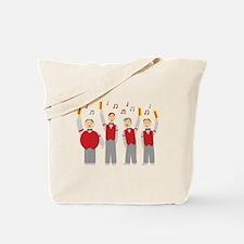Classic Barbershop Quartet Tote Bag