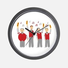Classic Barbershop Quartet Wall Clock