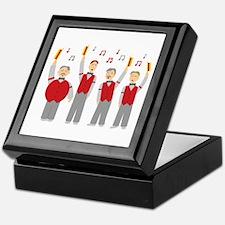 Classic Barbershop Quartet Keepsake Box