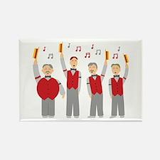 Classic Barbershop Quartet Rectangle Magnet