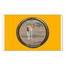 Guanaco Rectangle Decal