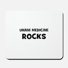Unani Medicine Rocks Mousepad